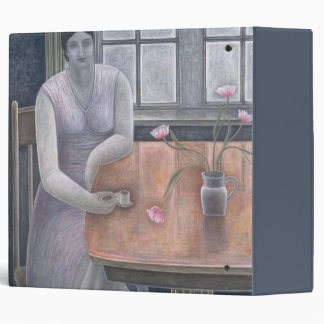 Woman with Small Cup 2007 3 Ring Binder