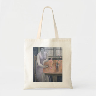 Woman with Small Cup 2007 Tote Bag