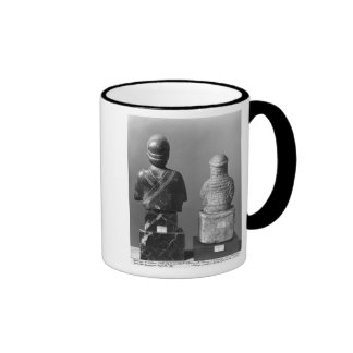 Woman with the shawl coffee mug