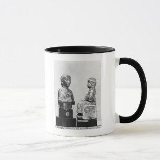 Woman with the shawl mug