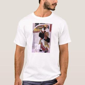 Woman with Umbrella 2 T-Shirt