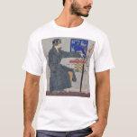 Woman With Umbrella - Vintage Art T-Shirt