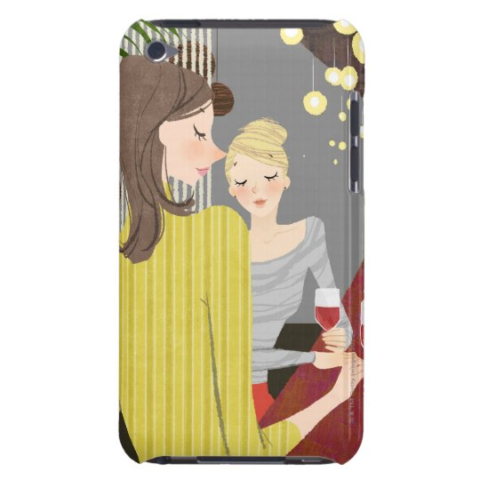 Woman with Wine iPod Touch Case