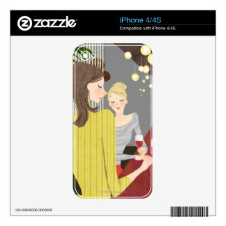 Woman with Wine Skins For iPhone 4S