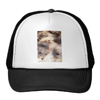 Woman Within Mesh Hats