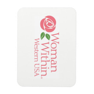 Woman Within Western USA Logo Magnet