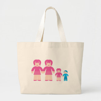 Woman Woman and children Tote Bags