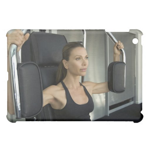 Woman working out in a gym iPad mini covers