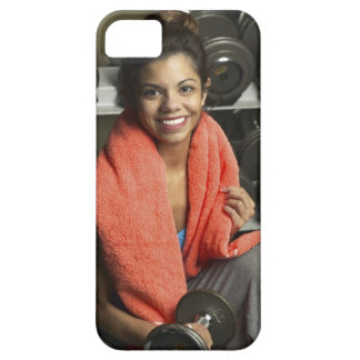 Woman working out iPhone 5 cover