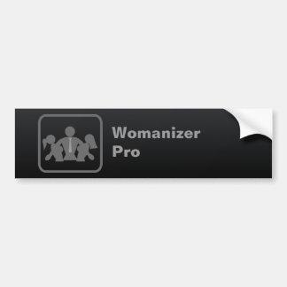 Womanizer Pro Car Bumper Sticker