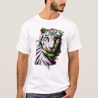 Woman's Artistic Tiger T-Shirt