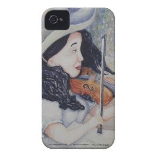 Woman's Autumnal Twilight Serenade iPhone 4 Cases