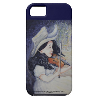 Woman's Autumnal Twilight Serenade iPhone 5 Case