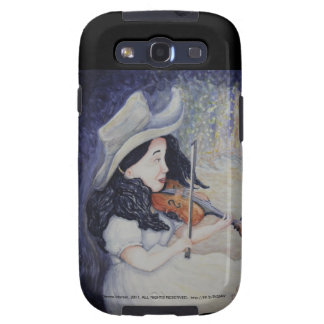 Woman's Autumnal Twilight Serenade Samsung Galaxy S3 Cover