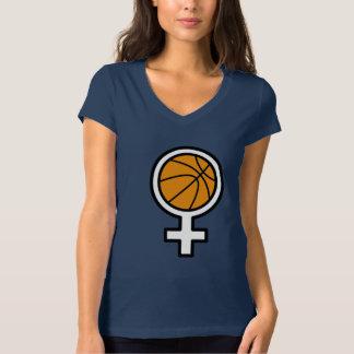 Woman's Basketball T-Shirt