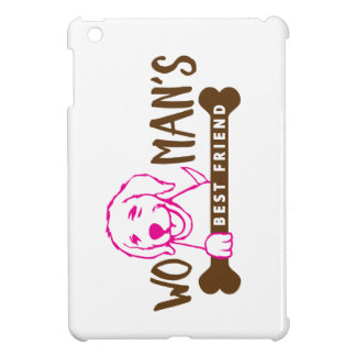 Woman's Best Friend - Dog Shirt Cover For The iPad Mini