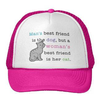 Woman's Best Friend - Her Cat Trucker Hat