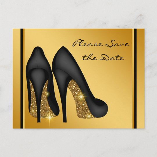 Womans Birthday Party Save The Date Announcement Postcard Zazzle Com