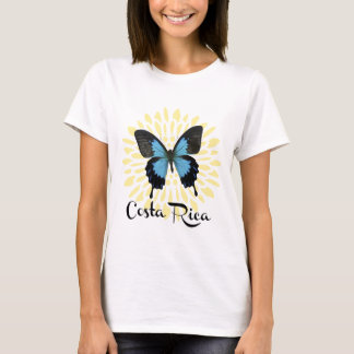 Woman's Blue Morpho Costa Rica T-Shirt