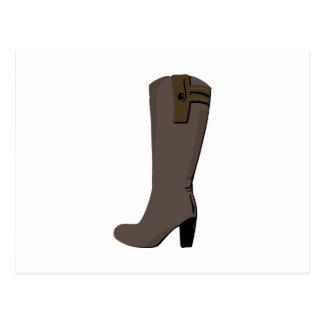 Womans Boot Post Cards