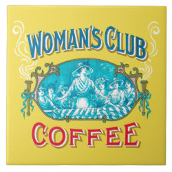 Woman's Club Coffee Trivet