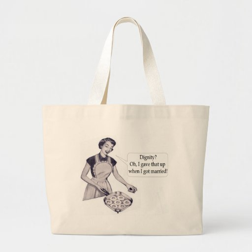 Woman's Dignity Tote Bags