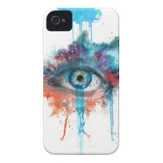 Woman's eye iPhone 4 cover