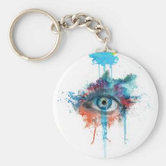 Woman's eye keychain