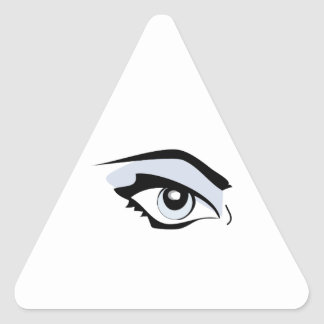 Womans Eye Stickers