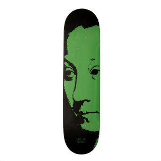 Woman's Face Skateboard Deck