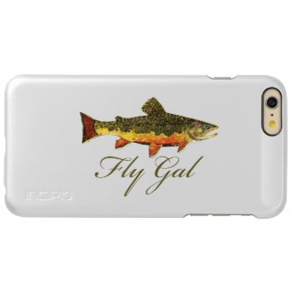 Woman's Fly Fishing Incipio Feather Shine iPhone 6 Plus Case