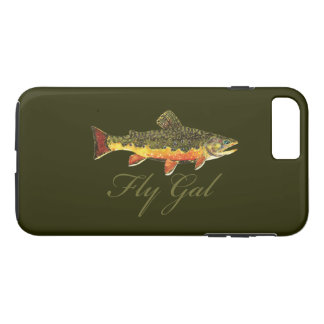 Woman's Fly Fishing iPhone 8 Plus/7 Plus Case