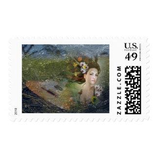 Woman's Guitar Dream Stamp