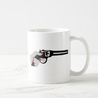 Woman's Hand and Gun Coffee Mug