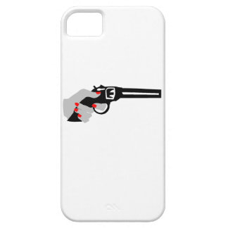 Woman's Hand and Gun iPhone SE/5/5s Case
