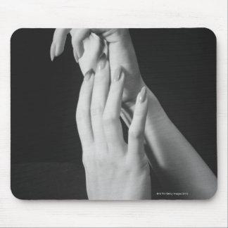 Womans Hands Mouse Pad