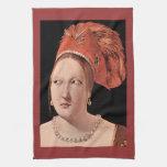 Woman's head by Georges de La Tour Kitchen Towels