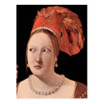 Woman's head by Georges de La Tour Postcard