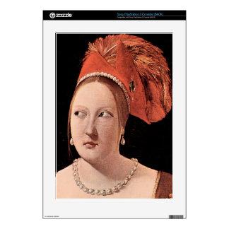 Woman's head by Georges de La Tour PS3 Console Decal