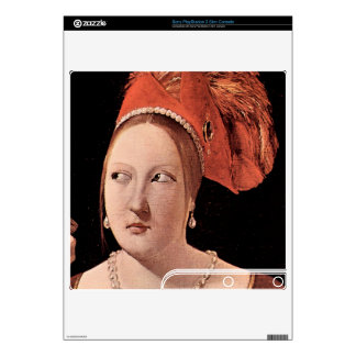 Woman's head by Georges de La Tour PS3 Slim Decal