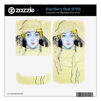 Womans head by Gustav Klimt BlackBerry Bold Skin