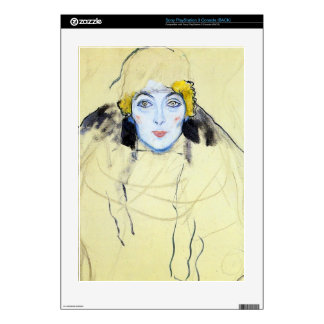 Womans head by Gustav Klimt Decal For The PS3