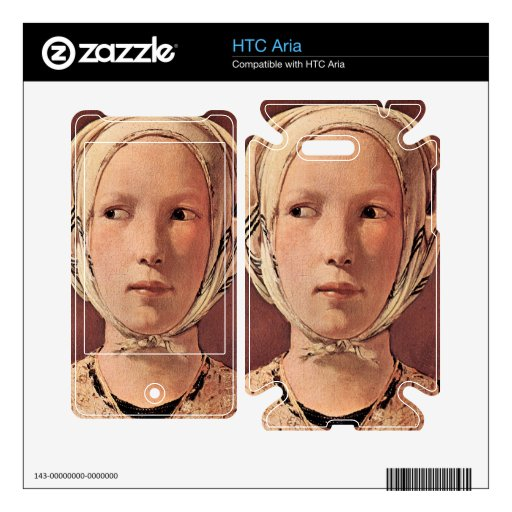 Woman's head frontally by Georges de La Tour Skin For The HTC Aria