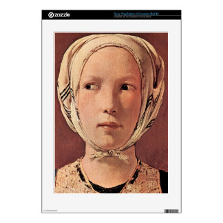 Woman's head frontally by Georges de La Tour Skins For PS3 Console