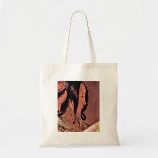 Woman's head in profile by Georges de La Tour Bags