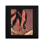 Woman's head in profile by Georges de La Tour Gift Box