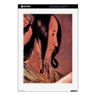 Woman's head in profile by Georges de La Tour PS3 Console Decals