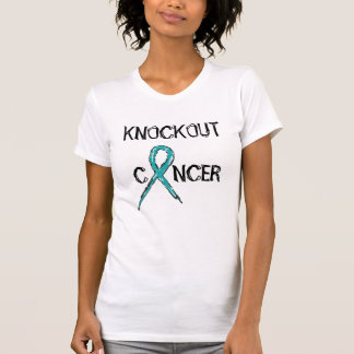 Woman's Knockout Cancer - Ovarian - Tank Top