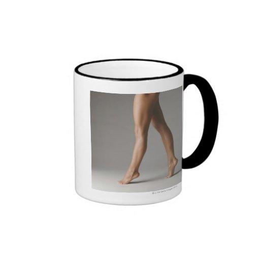 Woman's legs coffee mug