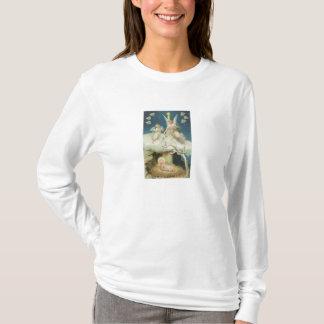 Woman's Longsleeve T-Shirt: Gift of Roses T-Shirt